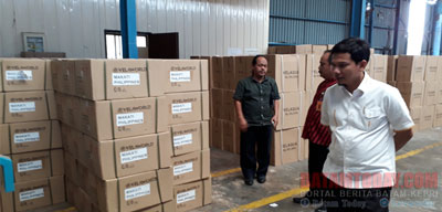 Produk Tanpa SNI di PT IEV Indonesia Kawasan Tanjunguncang Diketahui Milik BS