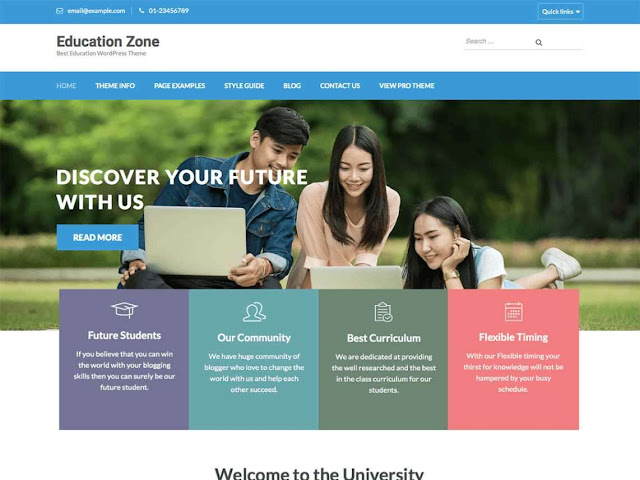 Top 10 Educational Free WordPress Themes. Download Educational Free WordPress Themes. Responsive and Latest Educational WordPress Themes.