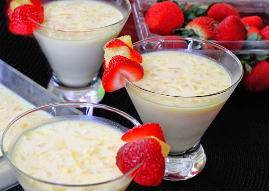 PINEAPPLE PUDDING ~ Sindhoora's Kitchen