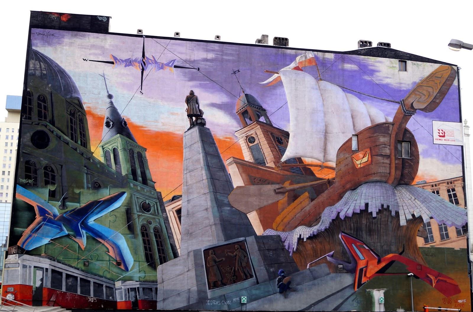 street art Lodz