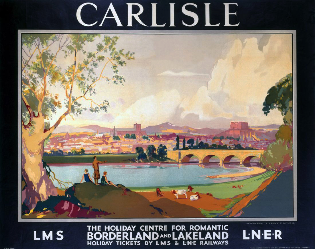 Old british railways posters down!