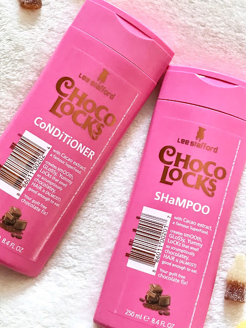 Lee Stafford CHoCo-LoCKs Hair Shampoo & Conditioner