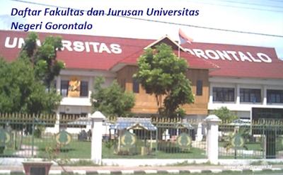 Daftar Fakultas dan Jurusan Universitas Negeri Gorontalo Lengkap Terbaru