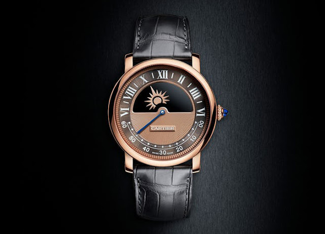Rotonde de Cartier Mysterious Day and Night in pink gold