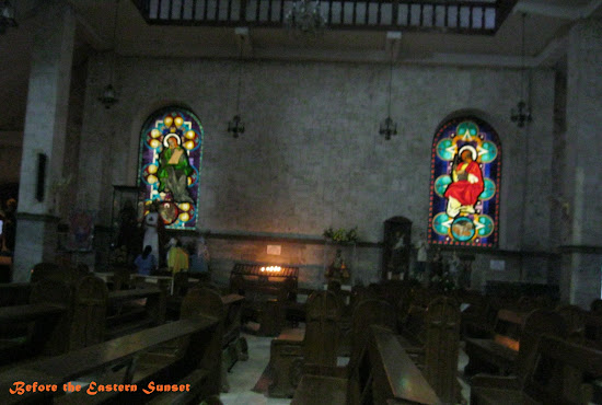 Danao City Church stained-glass window