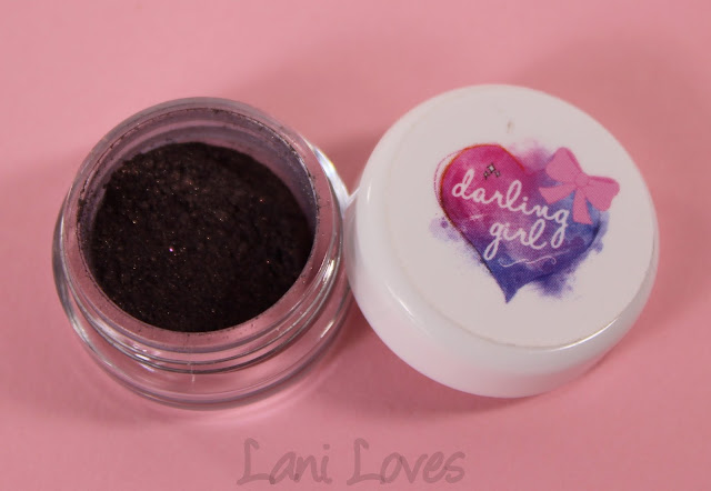 Darling Girl Eyeshadow - Black Hole Sun Swatches & Review