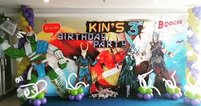 Thor Ragnarok Themed Birthday Pary