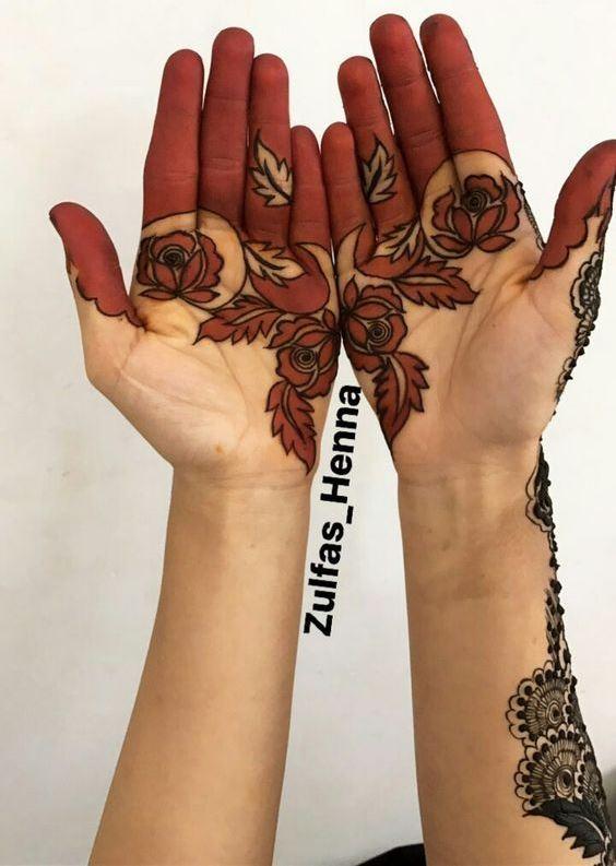 Mehandi Designs Simple Arabic 2018