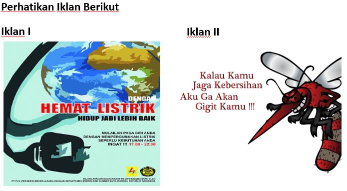 Contoh Soal Bahasa Indonesia Kelas 8 Tentang Iklan Slogan ...