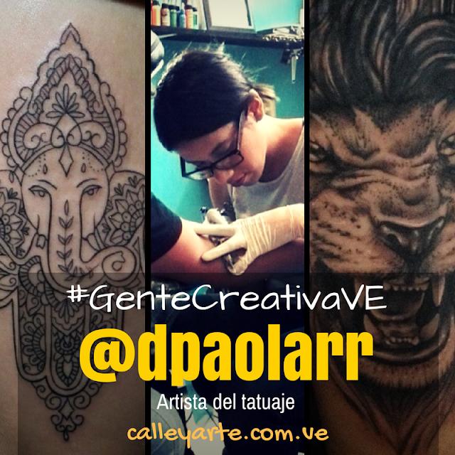 Artista del tatuaje en Anzoátegui - Tatuadora venezolana