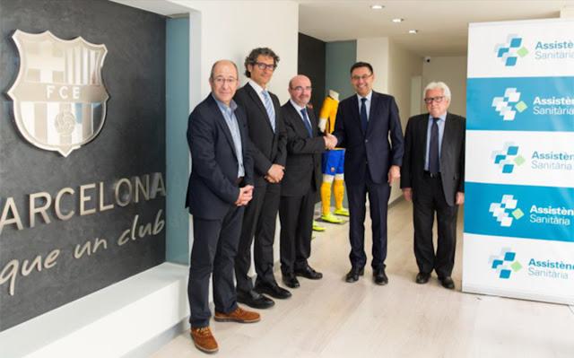 El Barça renueva con Assistència Sanitària