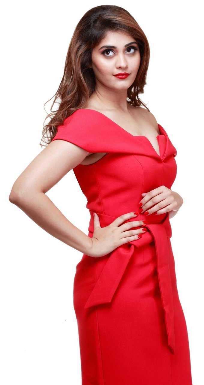 Beautiful Tamil Actress Surabhi Latest Hot Photo shoot In Red Dress