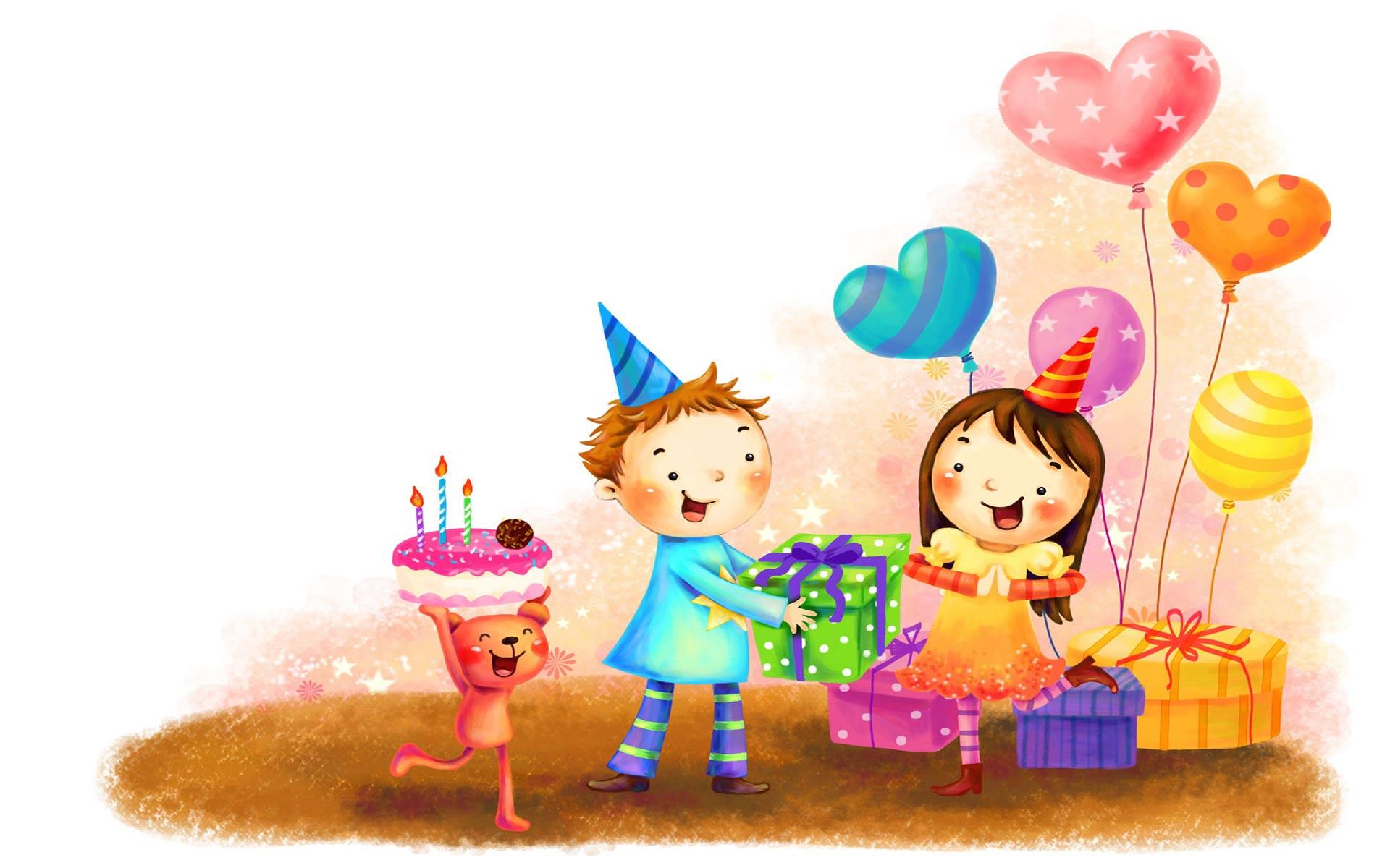 Papel de parede infantil feliz anivers rio papel de for Papel decomural infantil