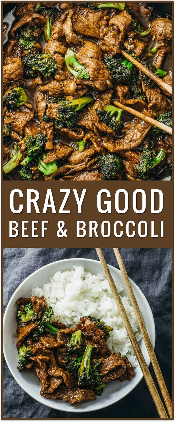 Crazy Good Beef And Broccoli