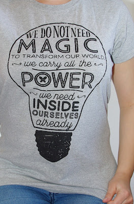 [Fashion] We do not need Magic: Lumos Charity Shirt, Jeans & Blazer