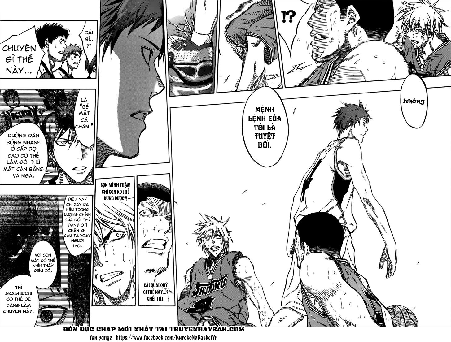 Kuroko No Basket chap 179 trang 8