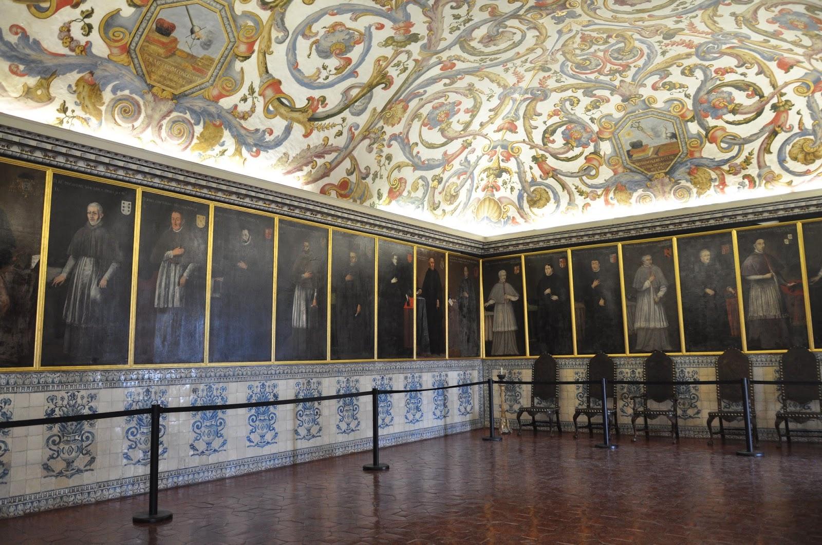 Throne Room Coimbra University