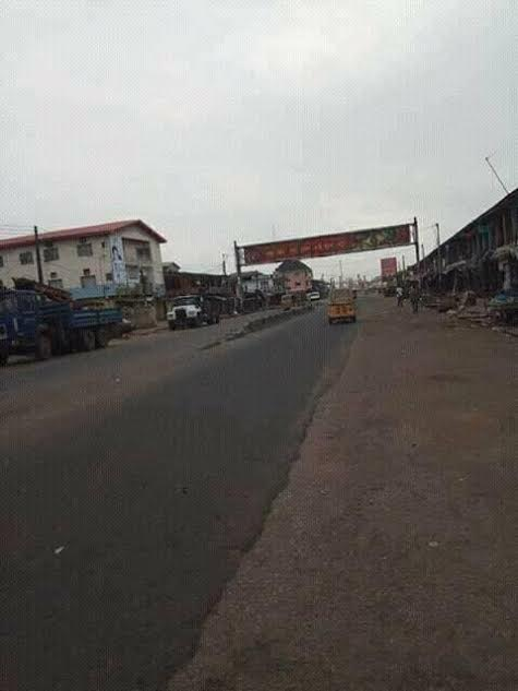 """a - Photos: Streets deserted as South East residents obey IPOB leaders """"Sit at home"""" order"""
