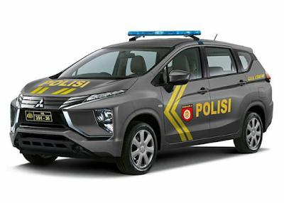 Mitsubishi expander untuk kepolisian