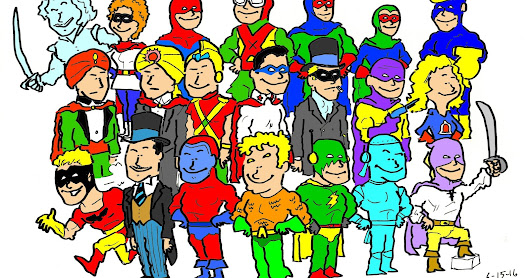 Golden Age DC Heroes NOT in the JSA or 7 Soldiers - 6-15-16 - Unofficial Original All Star Squadron?