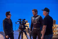 Guardians of the Galaxy Vol. 2 Chris Pratt and James Gunn Set Photo 1 (25)