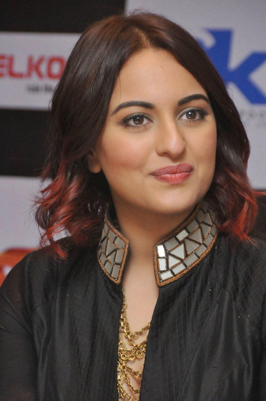 Sonakshi Sinha Latest Photos In Black Dress At Tevar Movie -7774