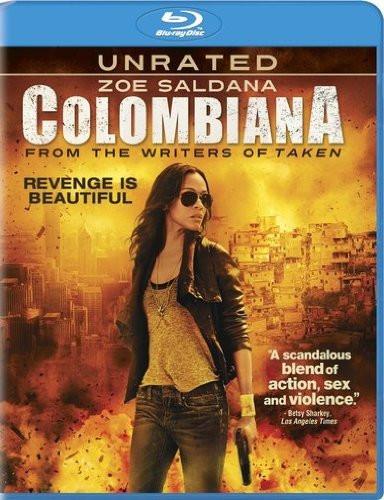 Colombiana 2011 Hindi Dual Audio 350MB BRRip ESubs Download