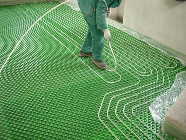 Schema impianto di riscaldamento a pavimento - Riscaldamento per esterno ...