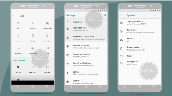 download & install android oreo, Mencicipi Android Oreo untuk Asus Zenfone Max, wd-kira, Asus Zenfone max mendapatkan android oreo, android 8.0, Akhirnya Android Oreo secara resmi turun untuk asus zenfone max
