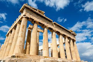 The Acropolis on The Virtual Refrigerator, an art link-up hosted by Homeschool Coffee Break @ kympossibleblog.blogspot.com  #art #homeschool