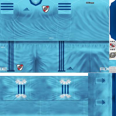 PES 6 Kits River Plate Season 2018/2019 by FacaA/Ngel