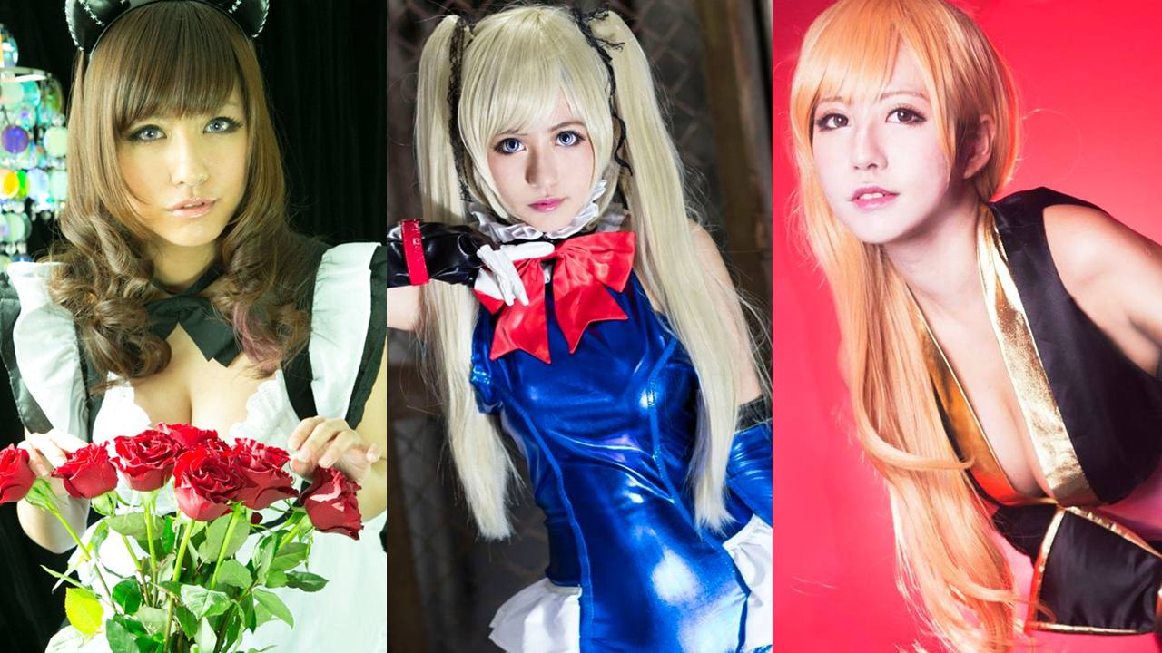top female cosplayer