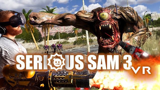 تحميل لعبه سيريوس سام Serious Sam 3 للكمبيوتر برابط مباشر ميديا فاير