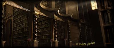 Harry Potter e la Pietra Filosofale: La biblioteca