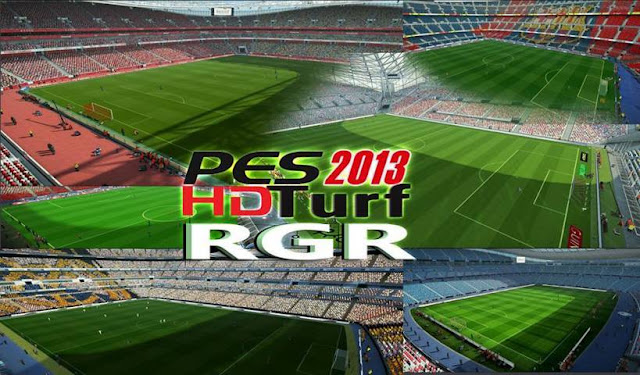 HD Turf Pack for PES 2013