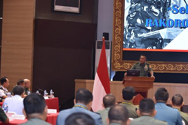 Diikuti 138 Peserta, Kasum TNI Buka Rakorops