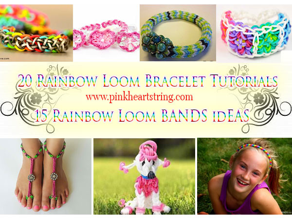 Rainbow Loom Band Bracelet Tutorials