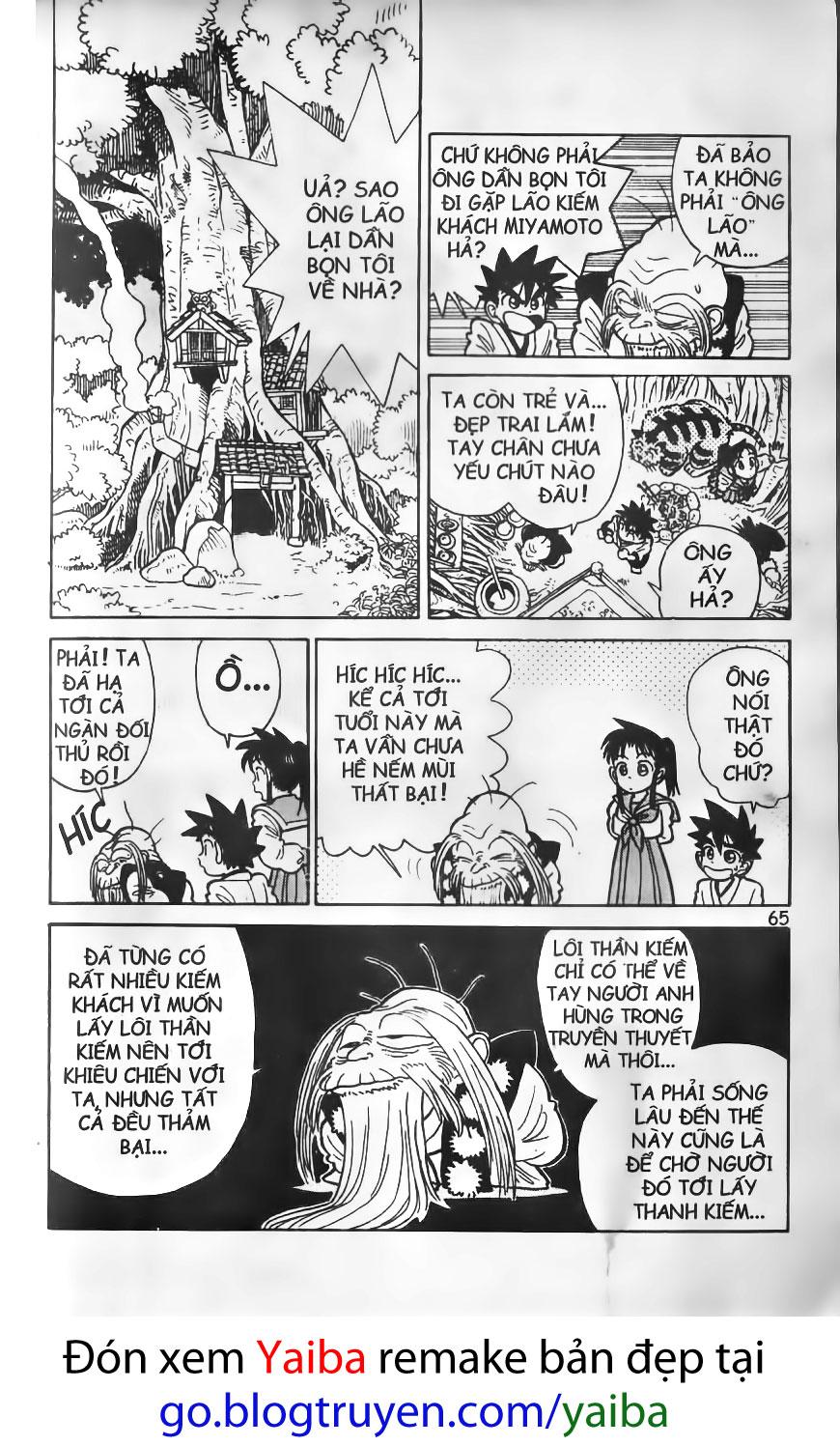 Yaiba chap 13 trang 8