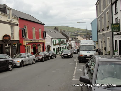 Dingle town in Ireland