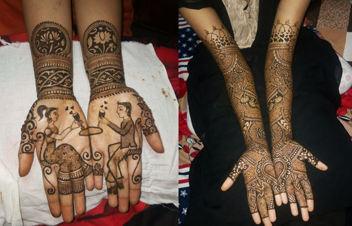 Indian Hands Mehndi Designs