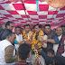 सरदारपुर - केबिनेट मंत्री हनी बघेल एवं विधायक प्रताप ग्रेवाल का हुआ भव्य स्वागत किया, 51 किलो की माला पहनाई, केक काटकर भी दी बधाई