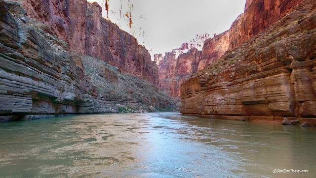 Geology travel rafting Grand Canyon National Park Arizona copyright RocDocTravel.com
