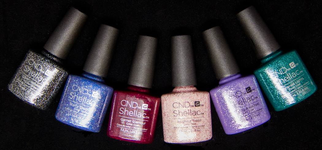 CND Shellac Starstruck Collection @chalkboardnails