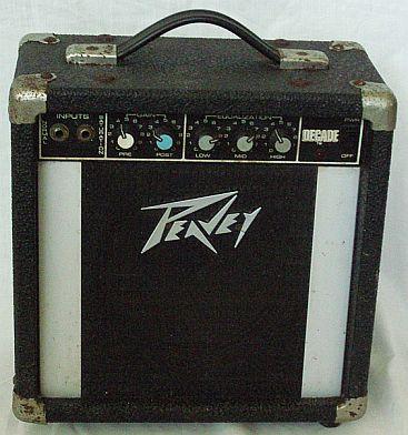 Vintage 1980's peavey decade electric guitar amplifier, | reverb.