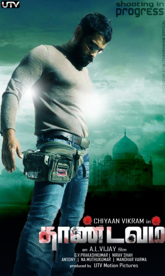 Thaandavam 2012 Dual Audio Hindi 450MB UNCUT BluRay 480p x264 ESubs