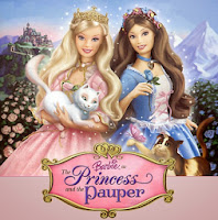 Mewarnai Barbie Princess And The Pauper