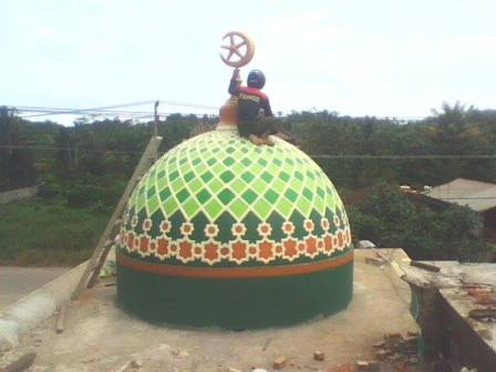#kubah_masjid_grc #krawangan_masjid