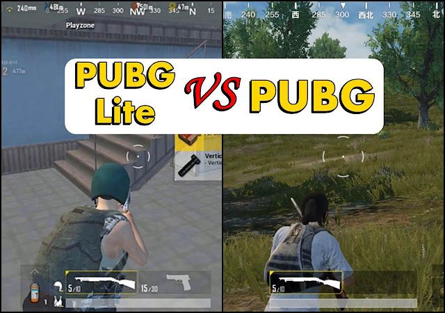 يتسائل البعض ما الفرق بين ببجي و ببجي لايت Pubg Mobile vs Pubg Mobile Lite لذلك نقدم لكم أهم الإختلافات بين اللعبتين و ما الفرق بينهما من خلال تسليط الضوء علي أهم النقاط و التغييرات الجوهرية .