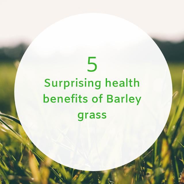 barley grass juice health benefit