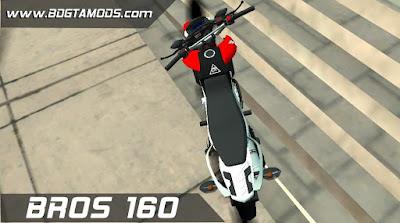 GTA SA - Honda BROS 160 2